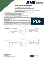 MMB Mini Tachometer 48mm Manual