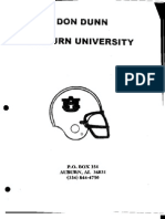2004 University of Auburn Tigers Defense - 73 pages