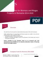 EU Funding for Biomass Biogas