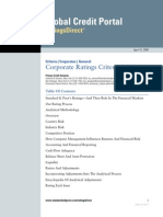 Corporate Ratings Criteria 2008