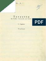 Paganini Trio Guitare Violon Cello Violon
