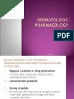 Dermatologic Pharmacology