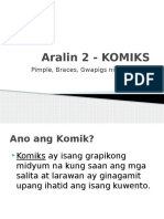 Aralin 2 - KOMIKS