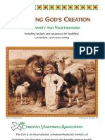 Honoring God's Creation - Christianity And Vegetarianism