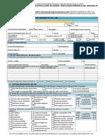Formulario de ingreso DEA