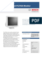 Bosch 107E61 Data Sheet