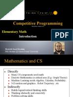01 ACM_ICPC - Elementary Math - Introduction