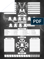 Victorian a 3 Rd Edition Character Sheet