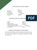 Principales Aeropuertos de Centro América
