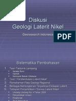 Diskusi Laterit Nikel