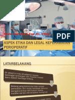 Aspek Etika Dan Legal Keperawatan Perioperatif