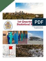 2015 1st Quarter Statistical Report