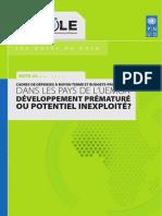 N4_CDMT Et Budgets Programmes Dans Les Pays de l'UEMOA - Note 4 Pole - PNUD