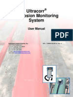 Ultracorr Corrosion Monitoring Manual