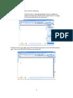 Word Excel Manual