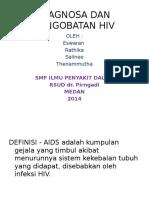 Diagnosa Dan Pengobatan Hiv