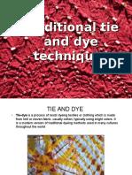 Tye and Dye
