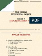 Positive dis pump