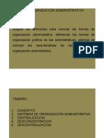 La Organización Admva 8