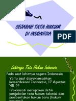 Sejarah Tata Hukum Indo