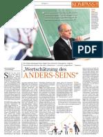 """""""Wertschätzung des Anders-Seins"""""""