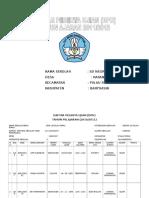 Daftar Peserta Ujian Tahun 2011 Dan 2012