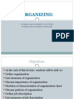 Organizing Management Nursing