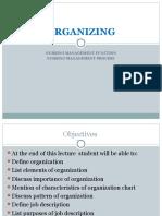 Organizing Management Nursing