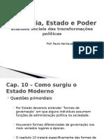 Sociologia Estado e Poder-prof Paulo Henrique-2ano