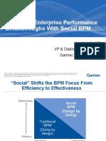 Deliver Enterprise Performance Breakthroughs With Social BPM