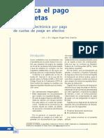 Deduzca El Pago de Casetas. Facturación Electrónica Por Pago de Cuotas de Peaje en Efectivo