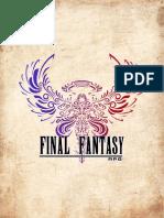 Final Fantasy RPG 3,5 Versão PC- By Fernanda Parker