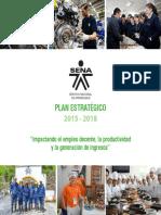 Plan Estratégico Sena 2015 - 2018