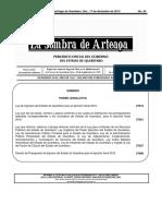 Ley de Ingresos Estado de Querétaro 2016