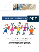 Family History Booklet