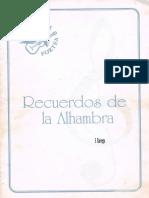 Recuerdos Alhambra
