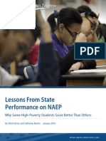 Lessons From State Performance on NAEP