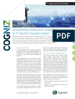 Accelerating Grassroots Adoption of IT Quality Transformation