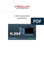 H.264 Camera Client User Manual