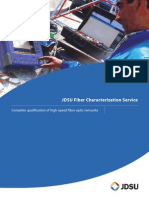 Fiber Characterization Service Brochure