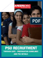 PSU Recruitment Through GATE 2016 - PSU Details With Preparation Guidelines