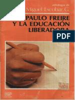 Paulo Freire y La Educacion Liberadora (1985)