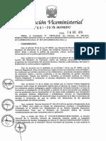 RVM N° 091-2015-MINEDU norma tecnica de proceso disciplinario para docentes del sector publico