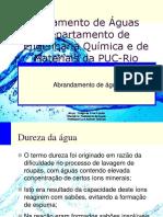 Abrandamento Químico - Tratamento de Águas
