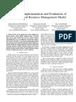 Design, Implementation and Evaluation of SDN-based Resource Management Model