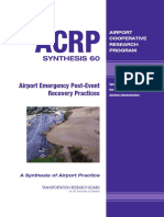 Airport Emergency and Recovery Practices