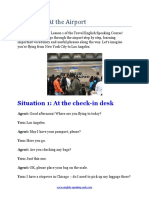 At the Airport Lesson Plan