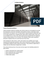 Air Handling Units AHU | Data Center Cooling Mission Critical