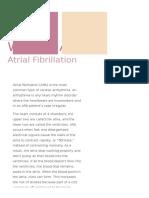 Atrial Fibrillation - Gen Project