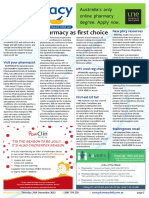 Pharmacy Daily for Thu 24 Dec 2015 - Pharmacy as first choice, Mozzies love Christmas, New pharmacy resources, Travel Specials and much more